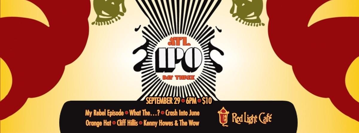 International Pop Overthrow Music Festival — Atlanta — Day Three – September 29, 2013 – Red Light Café, Atlanta, GA