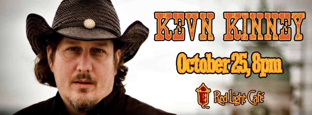 Kevn Kinney — October 25, 2013 — Red Light Café, Atlanta, GA