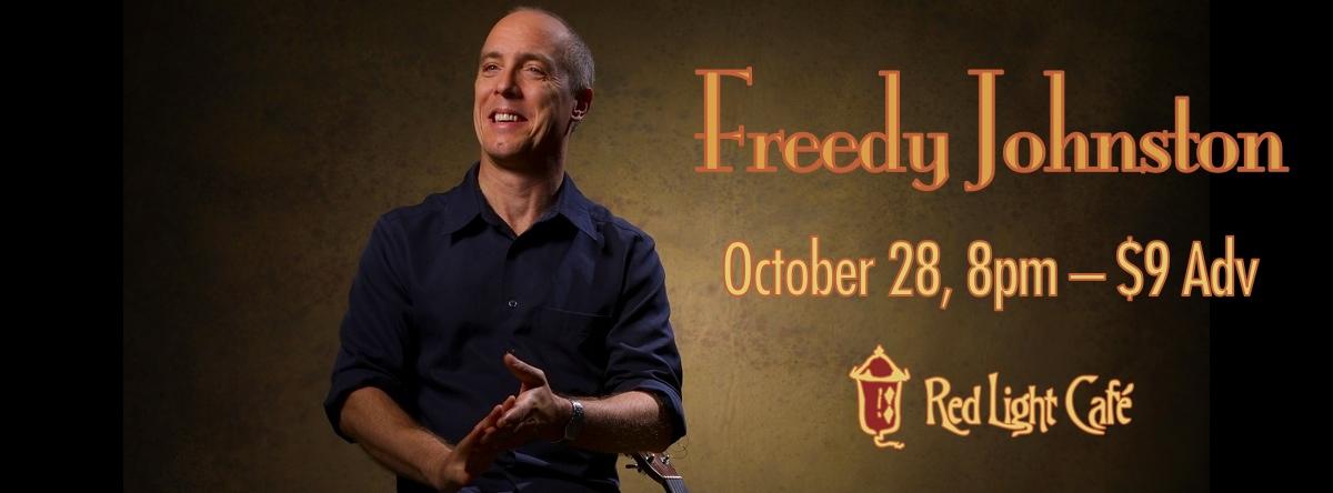 Freedy Johnston — October 28, 2013 — Red Light Café, Atlanta, GA