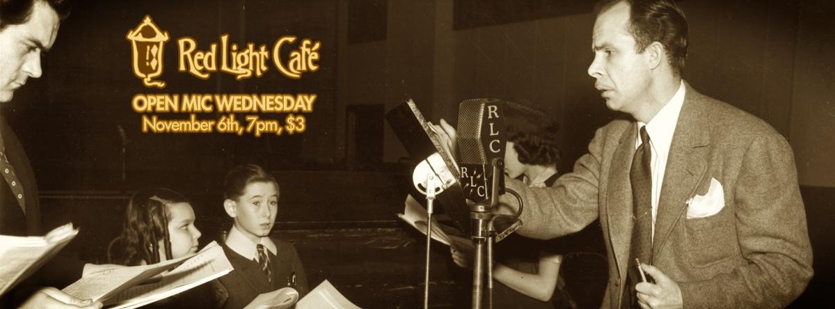 Open Mic Wednesday — November 6, 2013 — Red Light Café, Atlanta, GA