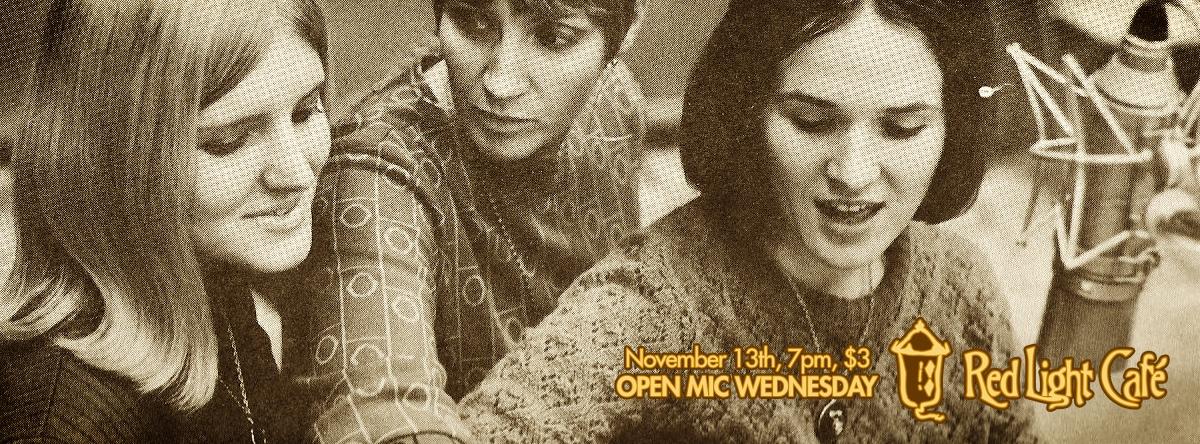 Open Mic Wednesday — November 13, 2013 — Red Light Café, Atlanta, GA