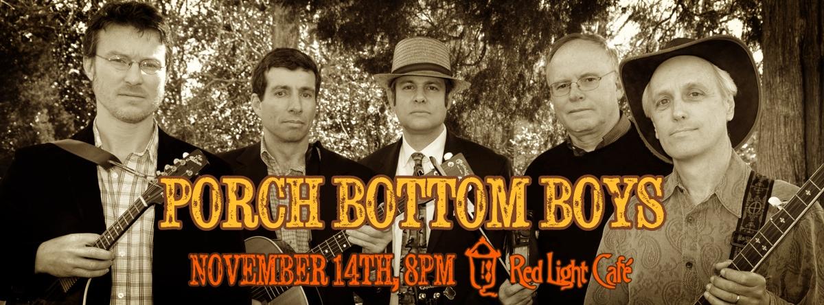 Porch Bottom Boys — November 14, 2013 — Red Light Café, Atlanta, GA
