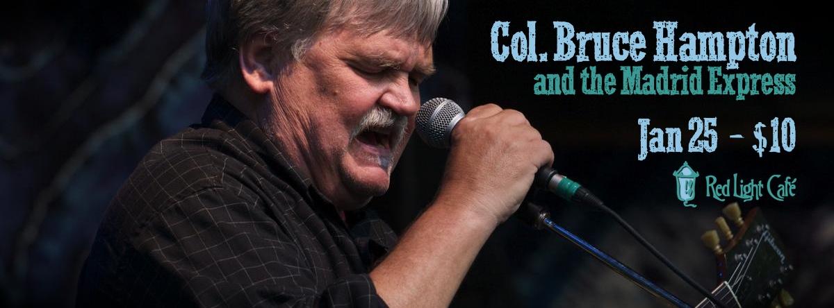 Col. Bruce Hampton and the Madrid Express — January 25, 2014 — Red Light Café, Atlanta, GA