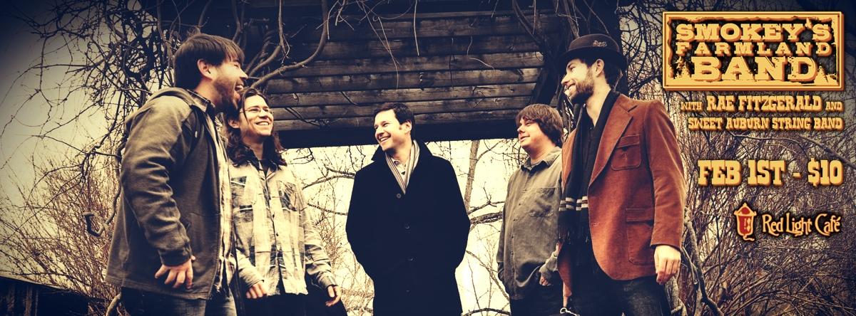 Smokey's Farmland Band w/ Rae Fitzgerald, & Sweet Auburn String Band — February 1, 2014 — Red Light Café, Atlanta, GA