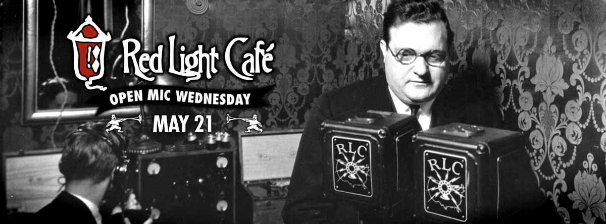 Open Mic Wednesday — May 21, 2014 — Red Light Café, Atlanta, GA