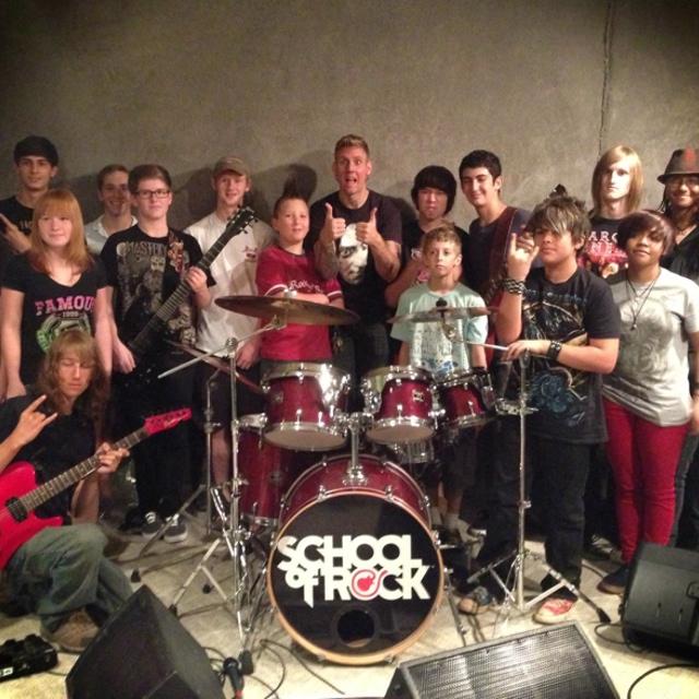 Atlanta School of Rock — July 18, 2014 — Red Light Café, Atlanta, GA