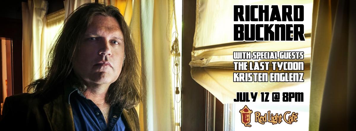 Richard Buckner with The Last Tycoon and Kristen Englenz — July 12, 2014 — Red Light Café, Atlanta, GA