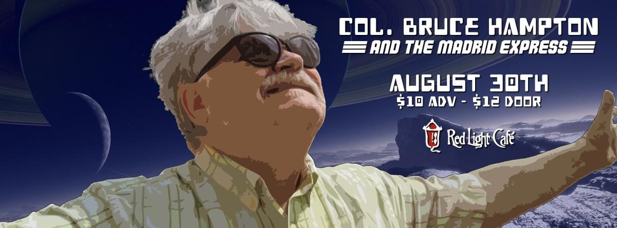 Col. Bruce Hampton & The Madrid Express — August 30, 2014 — Red Light Café, Atlanta, GA