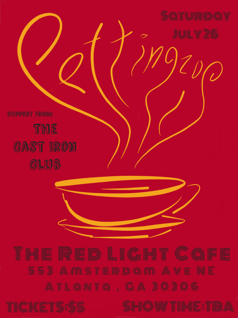 Pettingzoo w/ The Cast Iron Club — July 26, 2014 — Red Light Café, Atlanta, GA