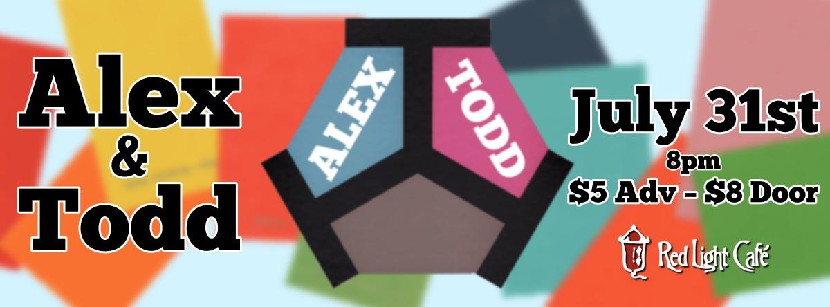 Alex and Todd — July 31, 2014 — Red Light Café, Atlanta, GA