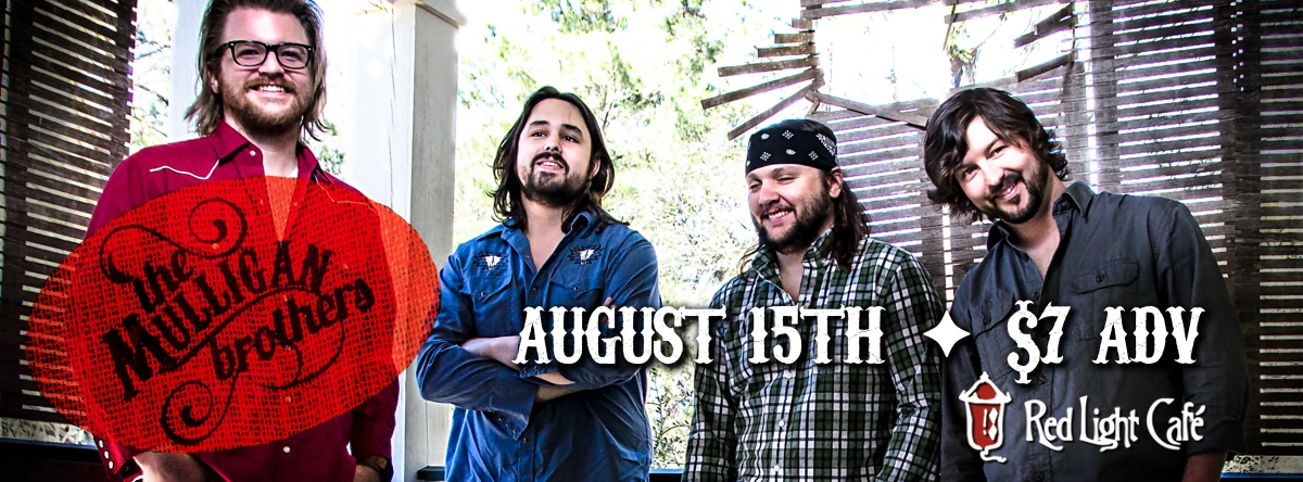 The Mulligan Brothers — August 15, 2014 — Red Light Café, Atlanta, GA