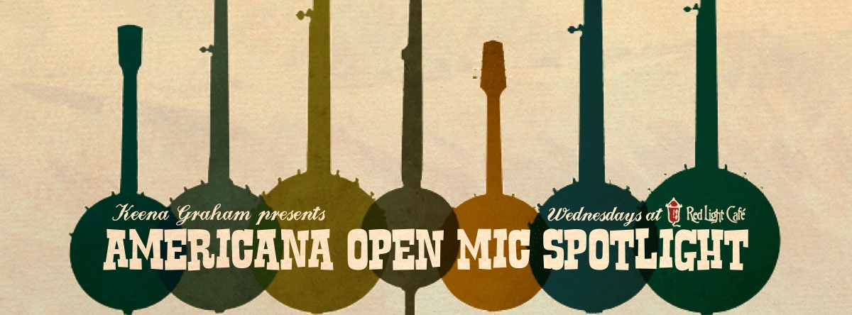 Americana Open Mic Spotlight — August 13, 2014 — Red Light Café, Atlanta, GA