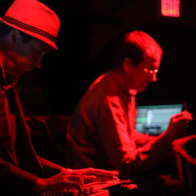 Duet for Theremin and Lap Steel — August 16, 2014 — Red Light Café, Atlanta, GA