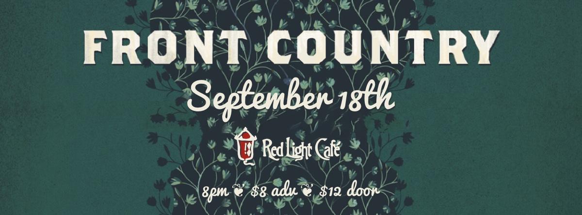 Front Country — September 18, 2014 — Red Light Café, Atlanta, GA