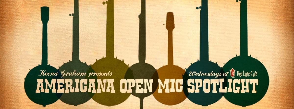 Americana Open Mic Spotlight — August 20, 2014 — Red Light Café, Atlanta, GA