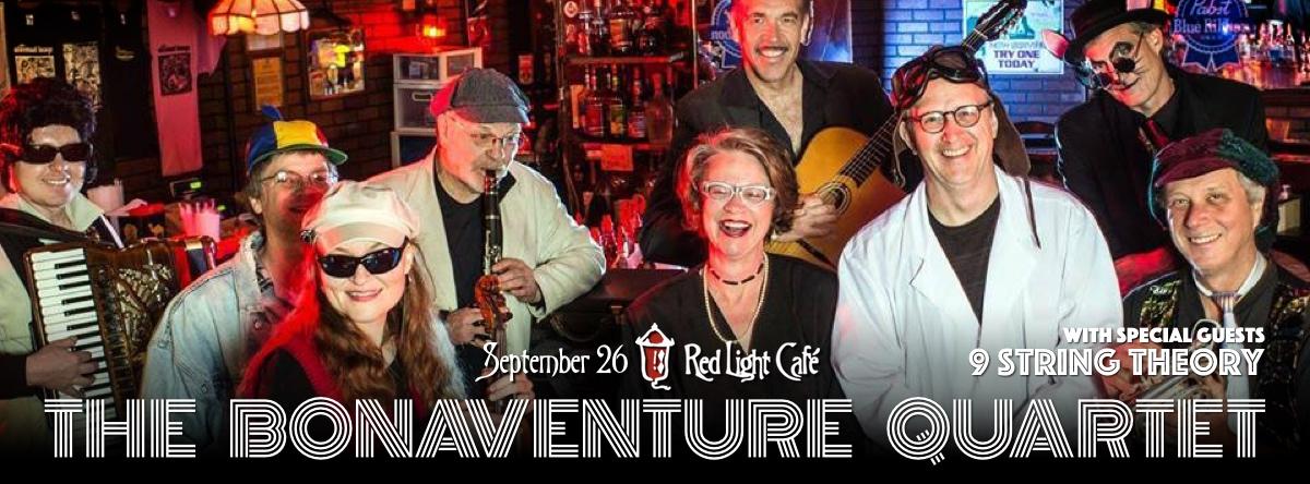 The Bonaventure Quartet ft. Amy Pike— September 26, 2014 — Red Light Café, Atlanta, GA