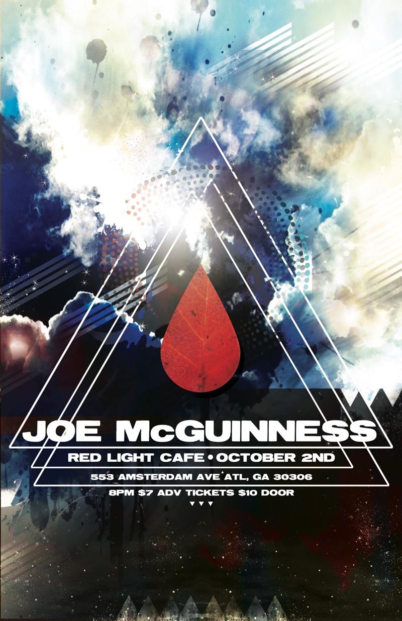 Joe McGuinness w/ Bill Sheffield — October 2, 2014 — Red Light Café, Atlanta, GA