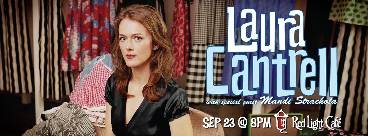 Laura Cantrell w/ Mandi Strachota — September 23, 2014 — Red Light Café, Atlanta, GA
