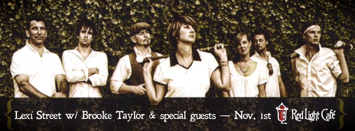Lexi Street w/ Brooke Taylor— November 1, 2014 — Red Light Café, Atlanta, GA