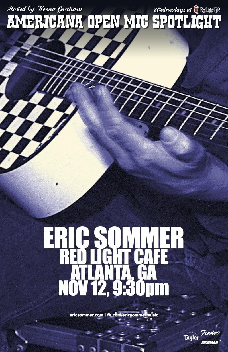 Americana Open Mic Spotlight — November 12, 2014 — Red Light Café, Atlanta, GA