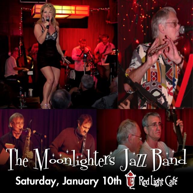 The Moonlighters Jazz Band — January 10, 2015 — Red Light Café, Atlanta, GA