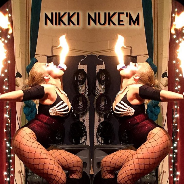 Nikki Nuke'm — January 25, 2015 — Red Light Café, Atlanta, GA