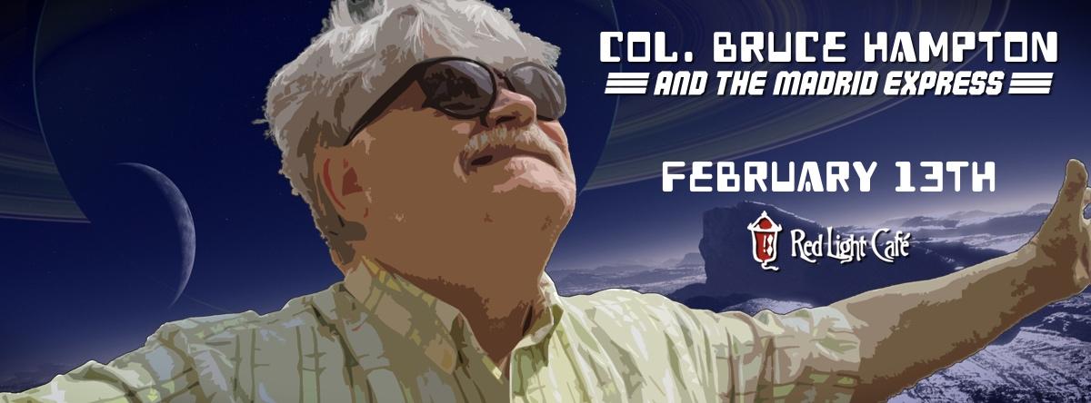 Col. Bruce Hampton & The Madrid Express ft. Johnny Knapp — February 13, 2015 — Red Light Café, Atlanta, GA