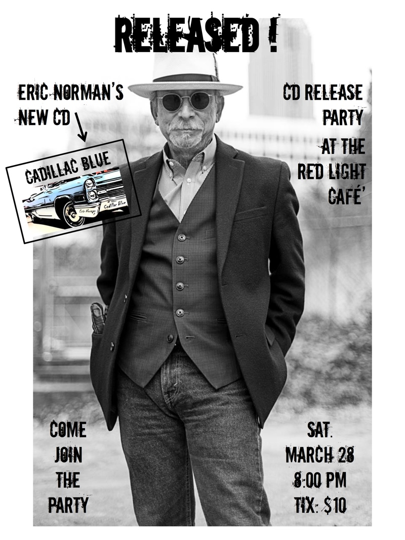 """Eric Norman """"Cadillac Blue"""" CD Release with The Ain't Sisters — March 28, 2015 — Red Light Café, Atlanta, GA"""