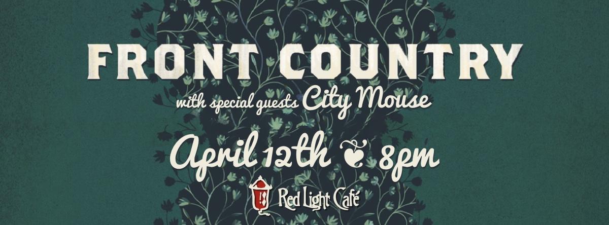 Front Country w/ City Mouse — April 12, 2015 — Red Light Café, Atlanta, GA