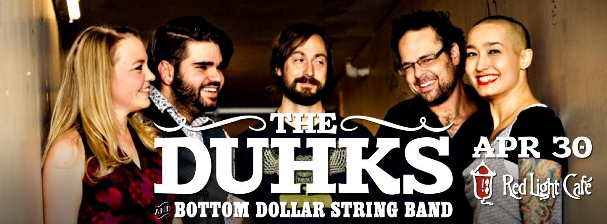 The Duhks with Bottom Dollar String Band — April 30, 2015 — Red Light Café, Atlanta, GA