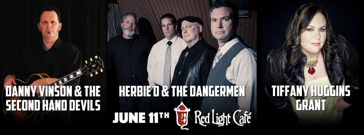 Danny Vinson & The Second Hand Devils + Herbie D & The Dangermen + Tiffany Huggins Grant — June 11, 2015 — Red Light Café, Atlanta, GA