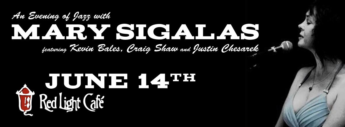 Mary Sigalas — June 14, 2015 — Red Light Café, Atlanta, GA