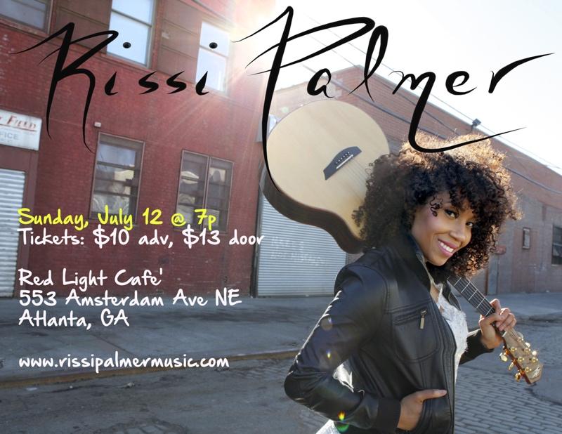 Rissi Palmer — July 12, 2015 — Red Light Café, Atlanta, GA