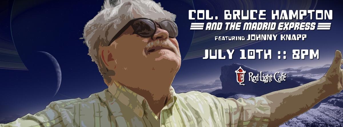 Col. Bruce Hampton & The Madrid Express ft. Johnny Knapp — July 10, 2015 — Red Light Café, Atlanta, GA