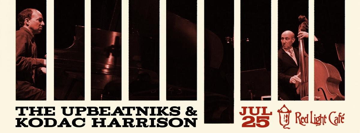 The Upbeatniks feat. Kodac Harrison — July 25, 2015 — Red Light Café, Atlanta, GA
