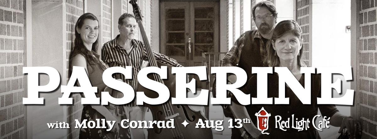 Passerine w/ Molly Conrad — August 13, 2015 — Red Light Café, Atlanta, GA