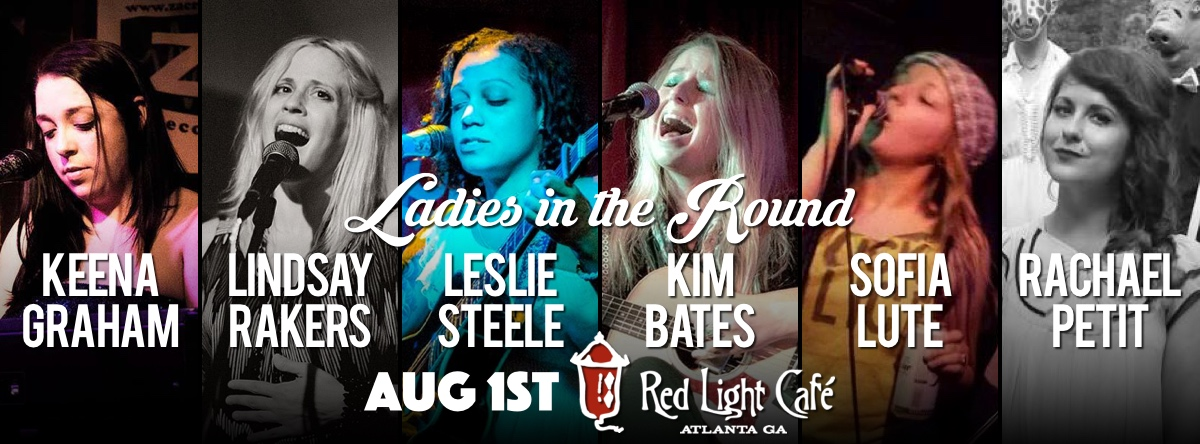Ladies in the Round — August 1, 2015 — Red Light Café, Atlanta, GA