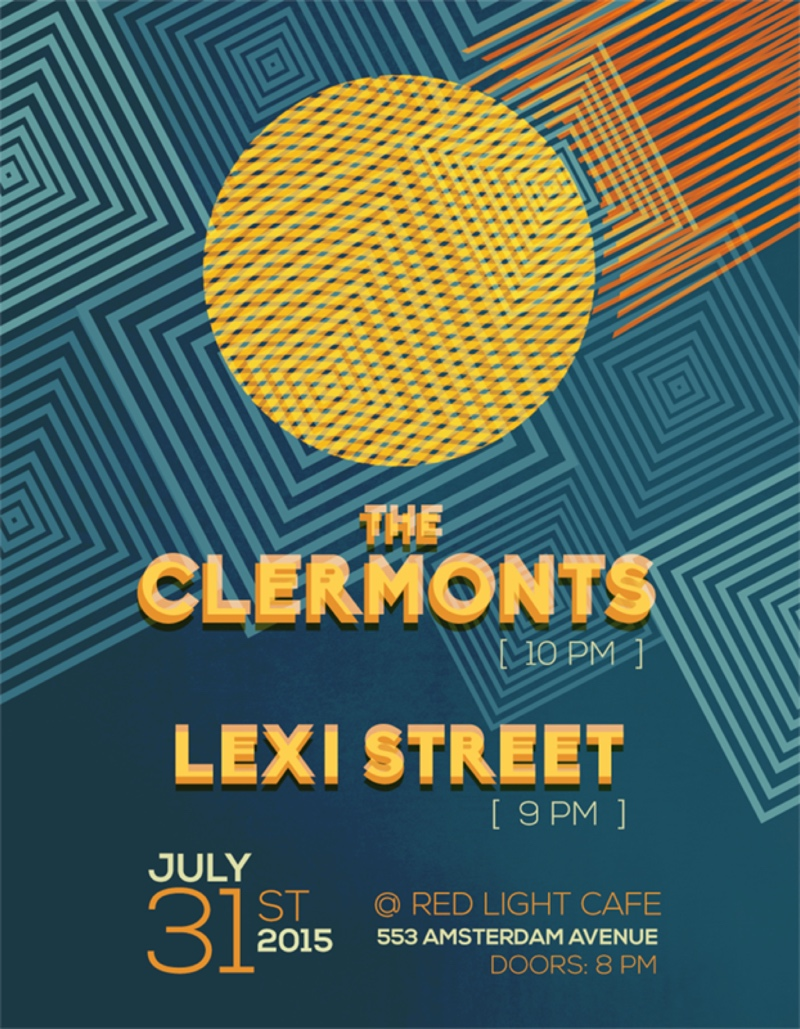 The Clermonts + Lexi Street — July 31, 2015 — Red Light Café, Atlanta, GA