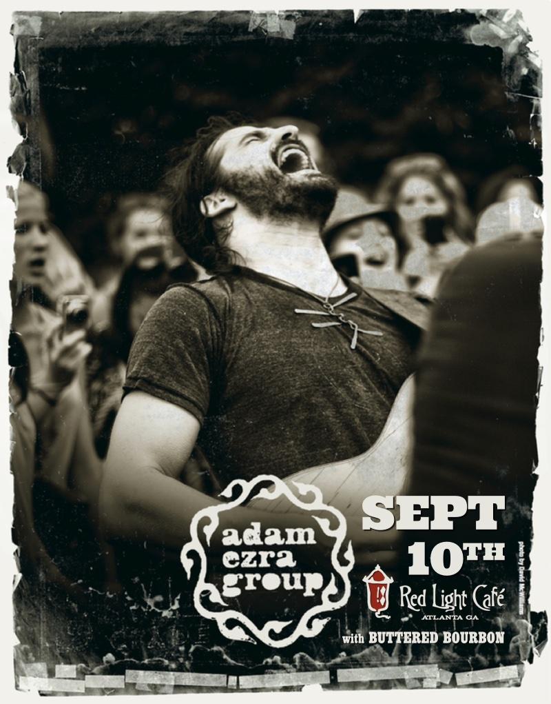 Adam Ezra Group w/ Buttered Bourbon — September 10, 2015 — Red Light Café, Atlanta, GA