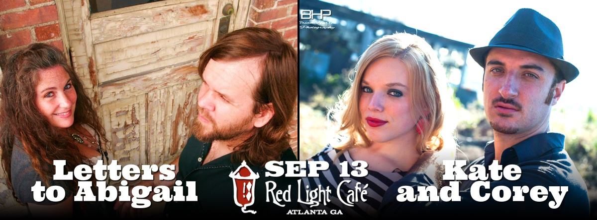 Letters to Abigail // Kate and Corey — September 13, 2015 — Red Light Café, Atlanta, GA