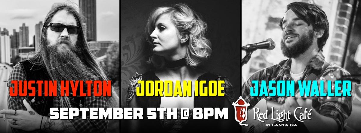 Justin Hylton + Jordan Igoe + Jason Waller — September 5, 2015 — Red Light Café, Atlanta, GA