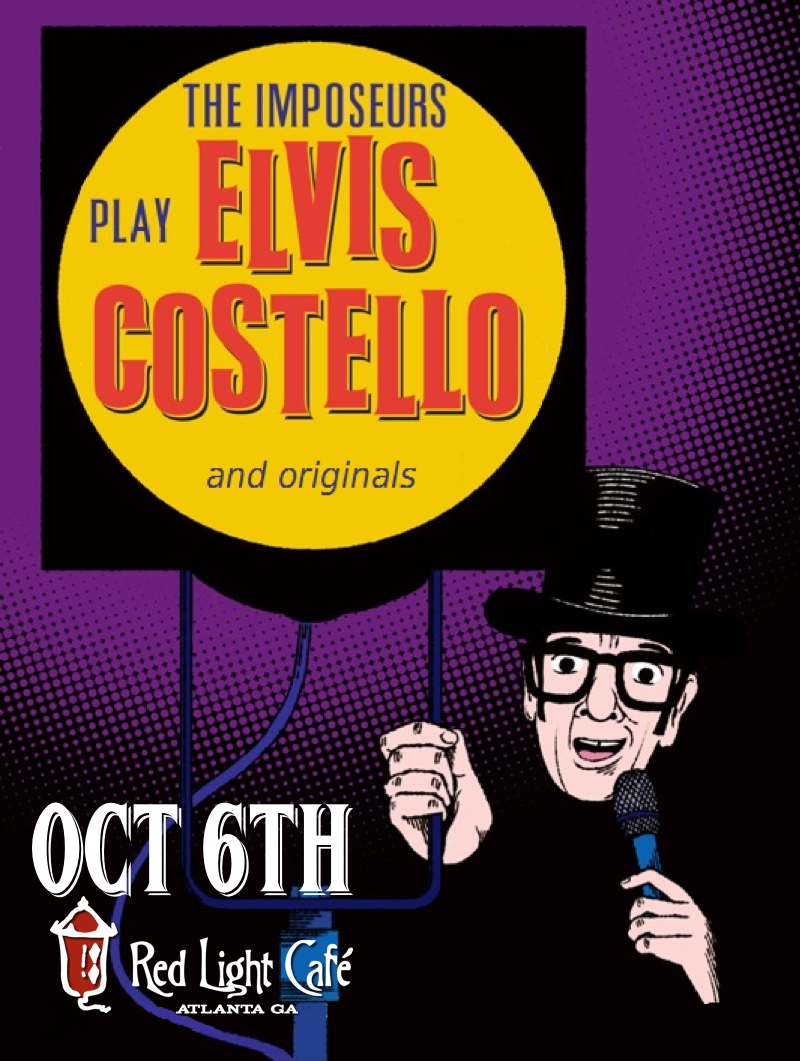 The Imposeurs Play Elvis Costello and Originals — October 6, 2015 — Red Light Café, Atlanta, GA