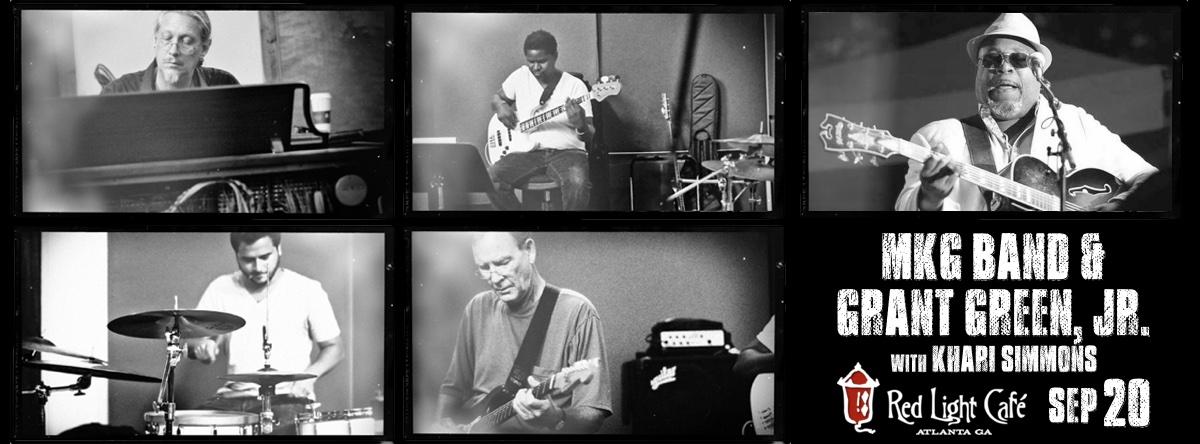 MKG Band & Grant Green, Jr. w/ Khari Cabral-Simmons — September 20, 2015 — Red Light Café, Atlanta, GA