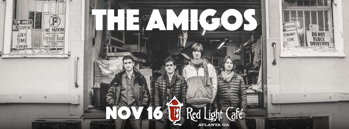 The Amigos — November 16, 2015 — Red Light Café, Atlanta, GA