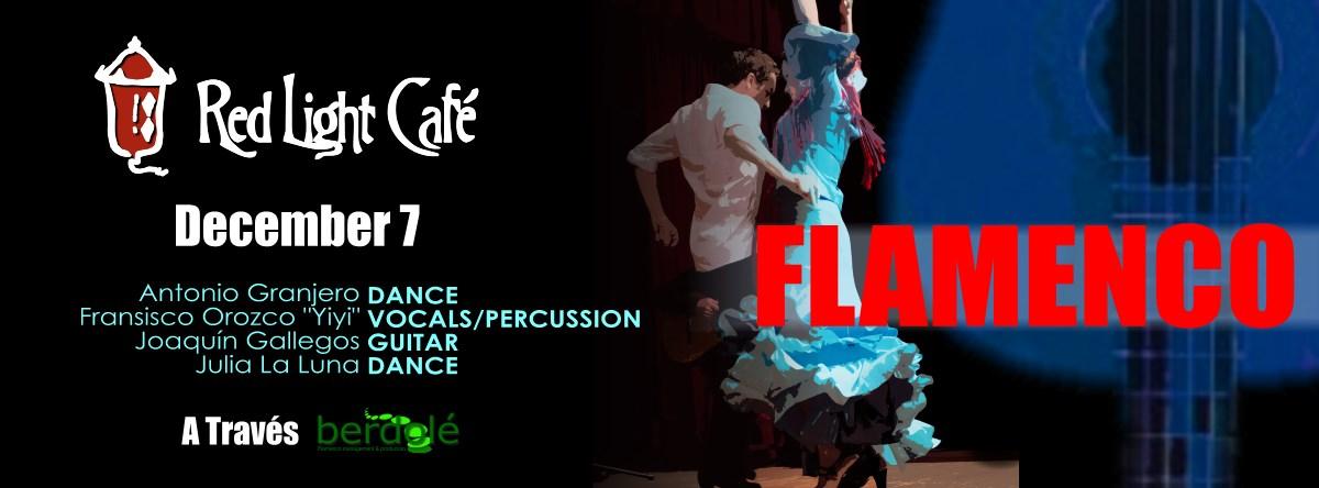 """FLAMENCO feat. Antonio Granjero + Francisco Orozco """"Yiyi"""" + Joaquín Gallegos + Julia La Luna — December 7, 2015 — Red Light Café, Atlanta, GA"""