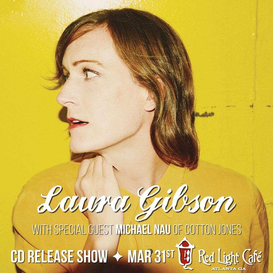 Laura Gibson CD Release Show — March 31, 2016 — Red Light Café, Atlanta, GA