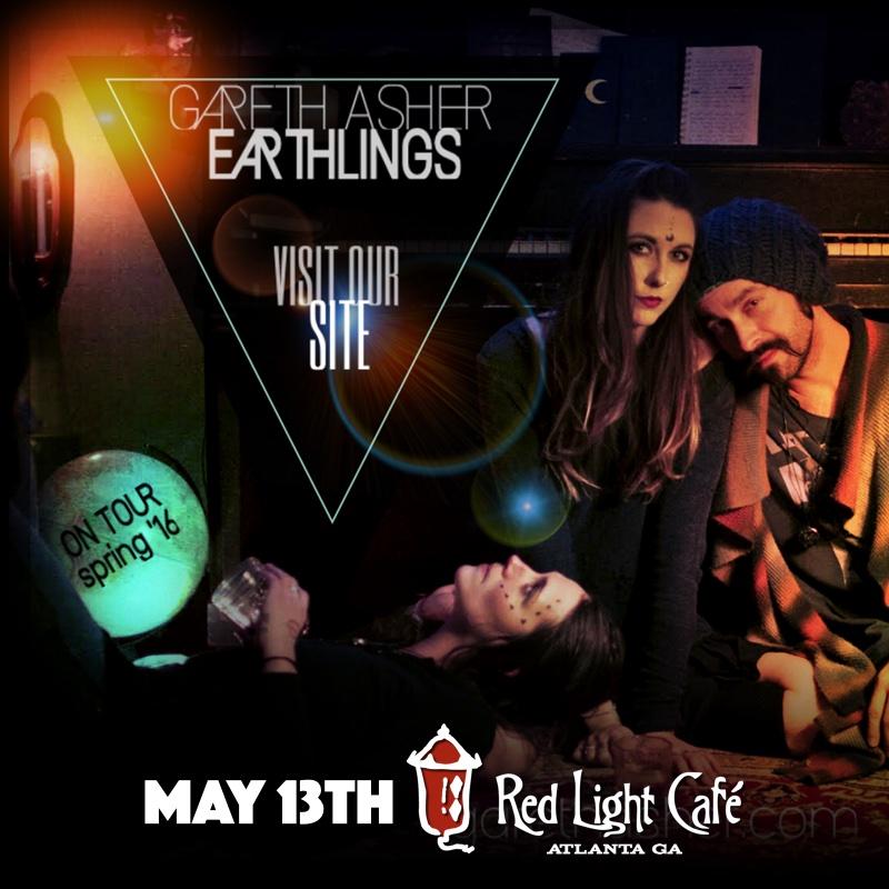 Gareth Asher & The Earthlings — May 13, 2016 — Red Light Café, Atlanta, GA