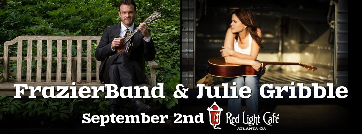 FrazierBand + Julie Gribble — September 2, 2016 — Red Light Café, Atlanta, GA