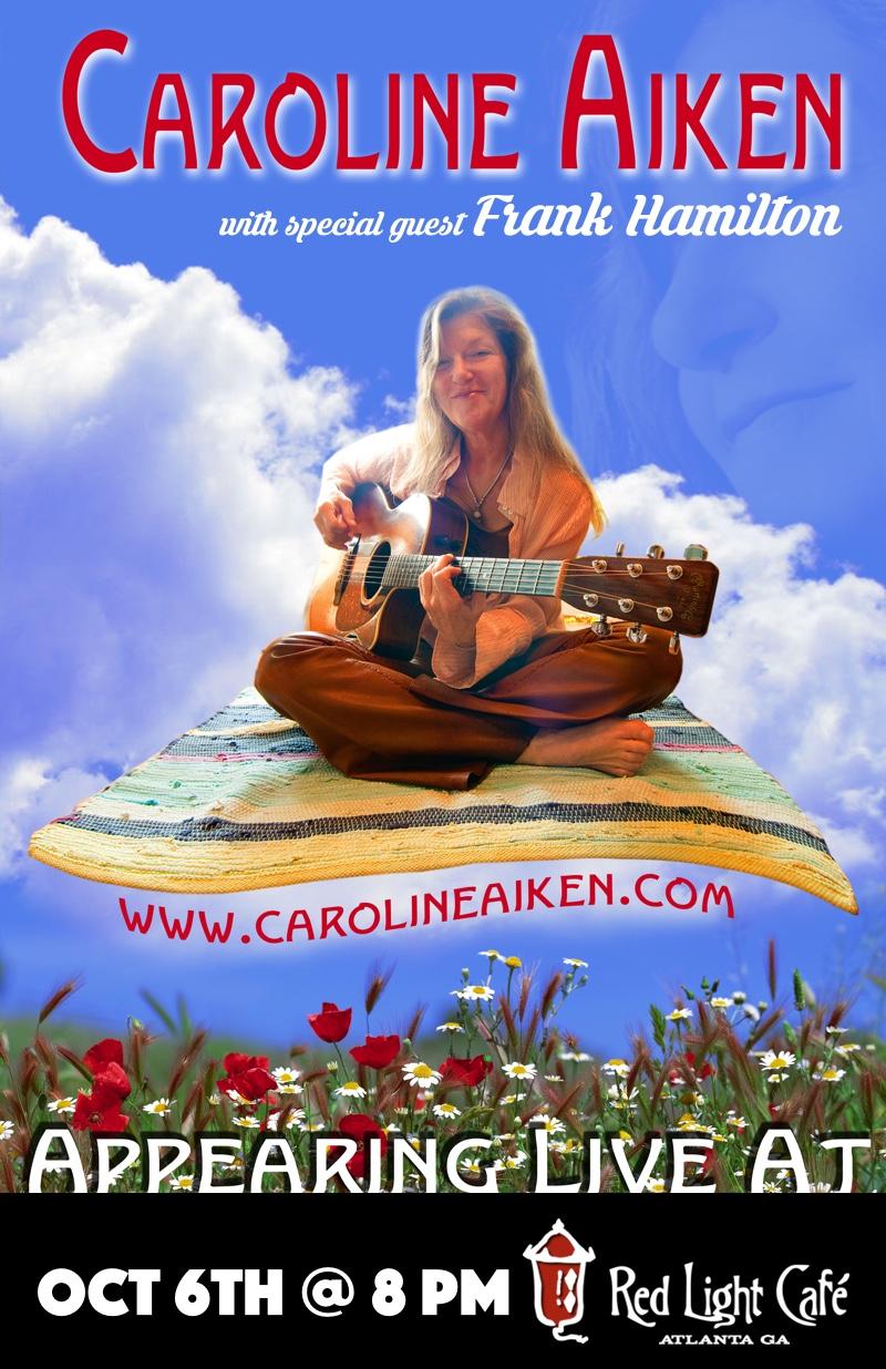 Caroline Aiken w/ special guest Frank Hamilton — October 6, 2016 — Red Light Café, Atlanta, GA