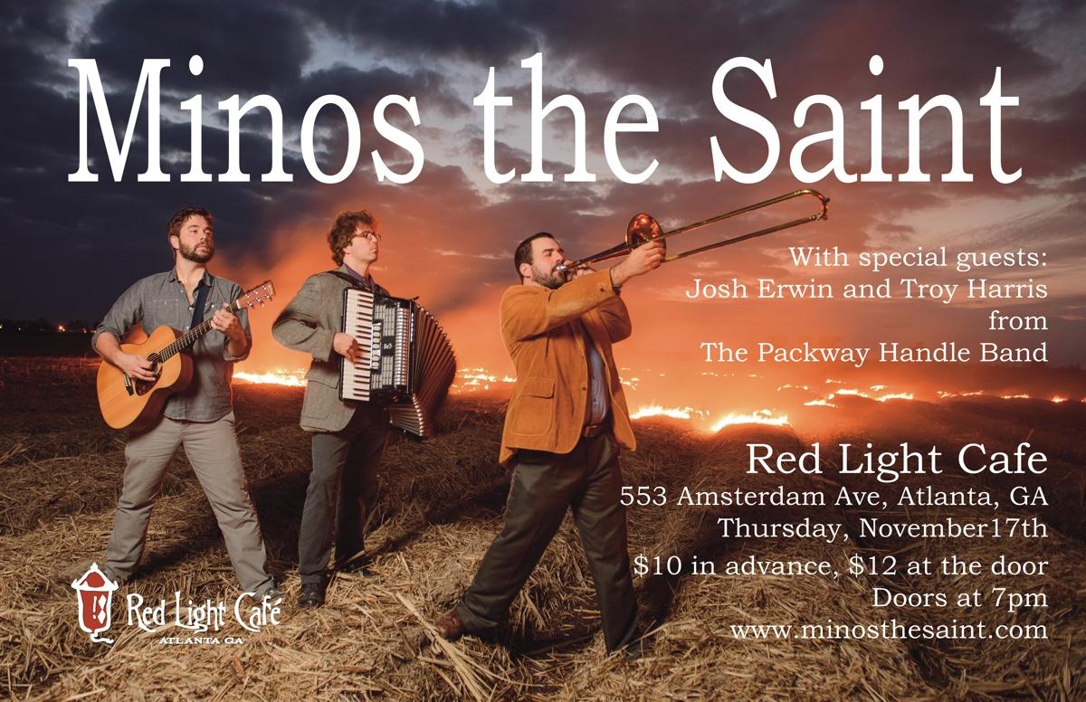 Minos the Saint — November 17, 2016 — Red Light Café, Atlanta, GA